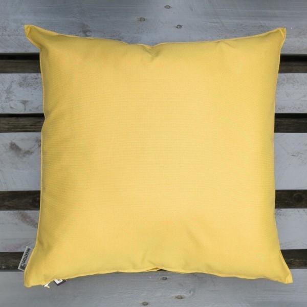 Outdoor Kissen St. Maxime gelb 60 cm Garten für draußen Newstalgie