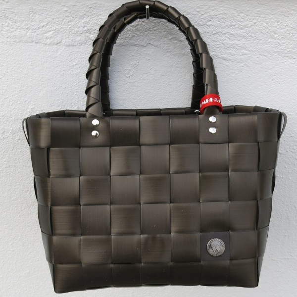Witzgall ICE BAG 5008 50OU Mini Shopper Einkaufskorb klein dunkelbraun