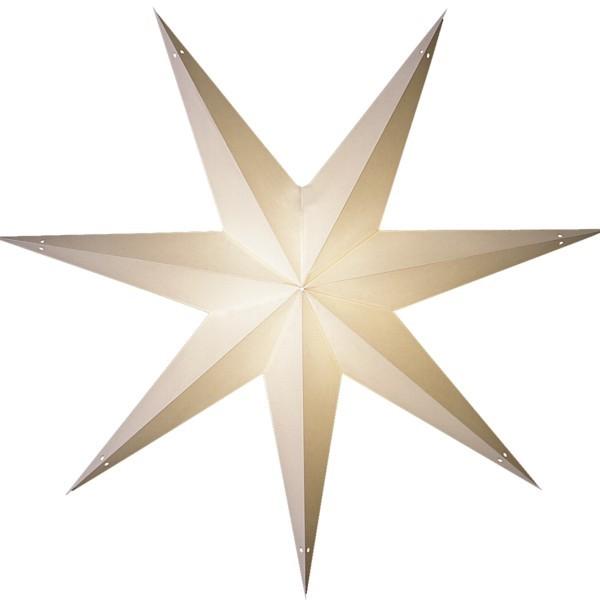 Starlightz Stern Sol weiß 85 cm Leuchtstern Papier Faltstern Weihnachtsstern