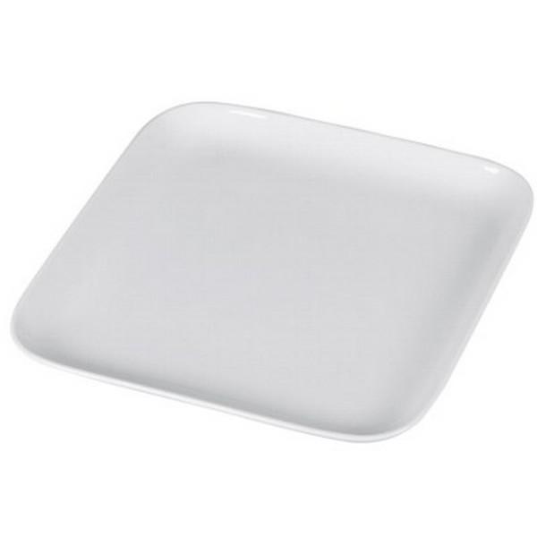 Arzberg Cucina Platte weiß 30 cm quadratisch Servierplatte Porzellan