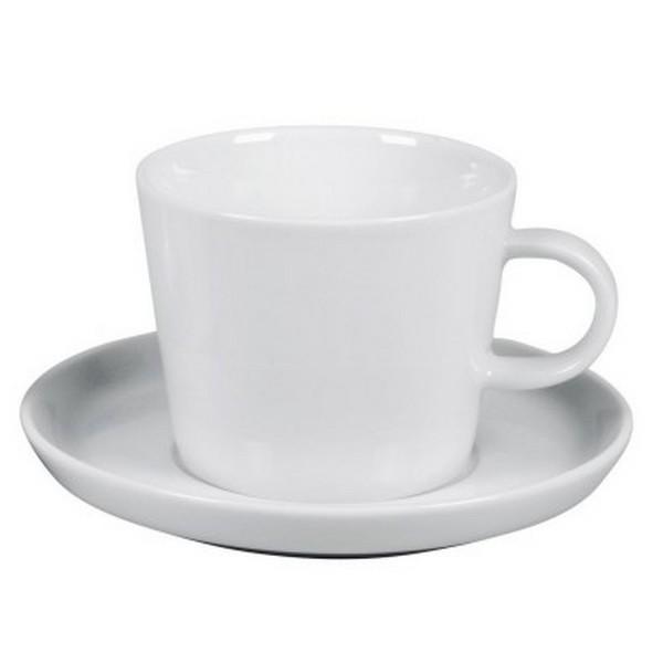 Arzberg Cucina Kaffeetasse weiß 2 tlg Tasse Porzellan