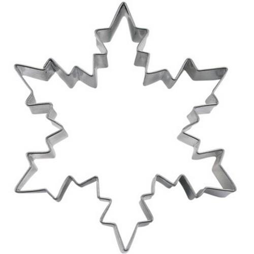 Ausstechform Eiskristall 6 cm Ausstecher Kristall Städter
