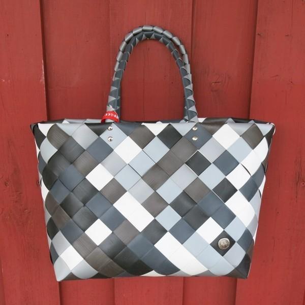 Witzgall ICE BAG Shopper 5017 03 grau schwarz braun Einkaufskorb