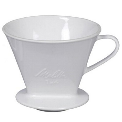 Friesland Kaffeefilter 1 x 4 weiß Porzellan vormals Melitta Minden Klassiker