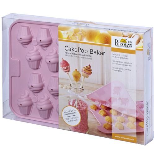 CakePop Backform Baker Cupcake Silikon Birkmann