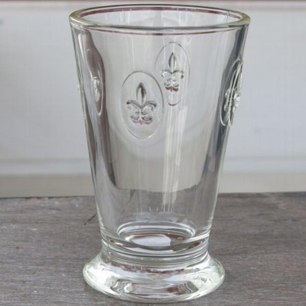 La Rochere Glas Lilie 1 x Becher hoch Fleur de Lys