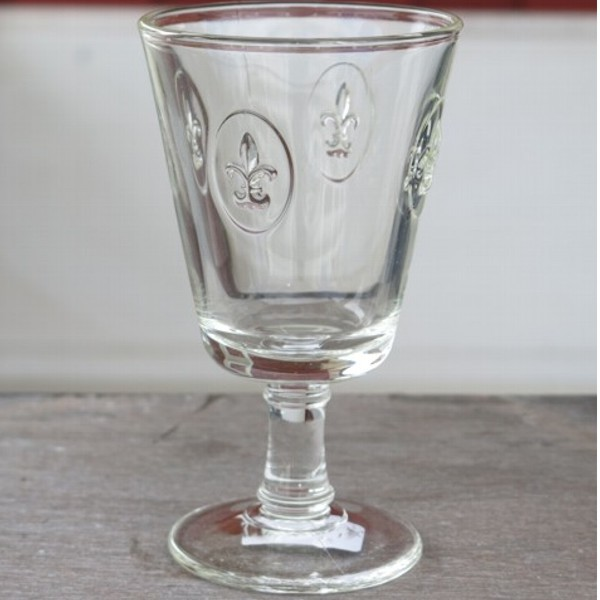 La Rochere Glas Lilie 1 x Weinglas Fleur de Lys