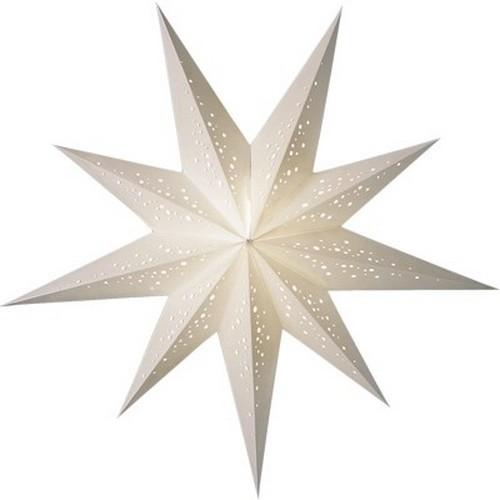 Starlightz Bianco Leuchtstern Papier weiß Stern Lampe Weihnachtsstern