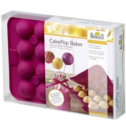 CakePop Backform Baker Silikon Birkmann