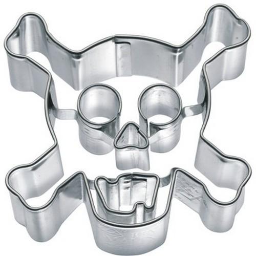 Ausstechform Totenkopf 7 cm Ausstecher Skull Birkmann