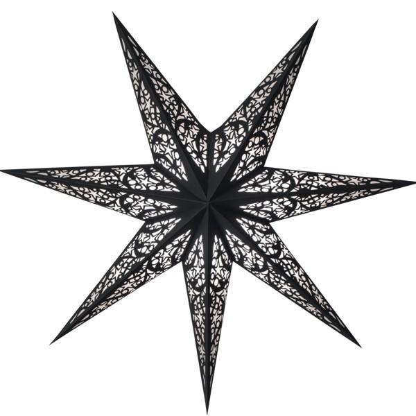 Starlightz Stern Lux schwarz 60 cm
