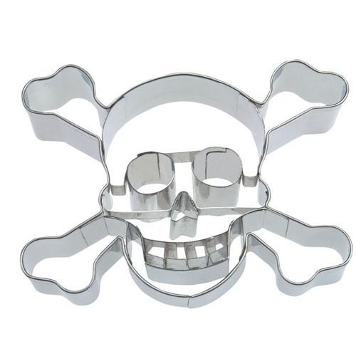 Ausstechform Totenkopf 9 cm Ausstecher Skull Städter