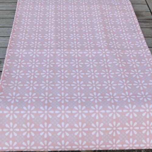 Outdoor Tischläufer rosa Daisy Flower 40 x 142 cm