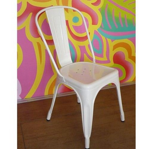 Tolix Stuhl A weiß ORIGINAL chair