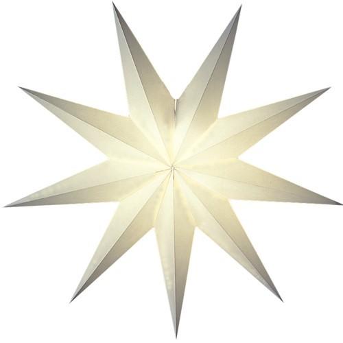 Starlightz Stern Suria weiß Leuchtstern Papierstern Weihnachtsstern