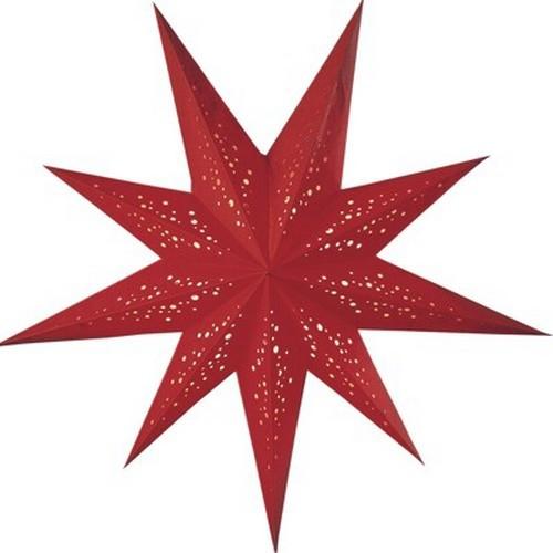 Starlightz Spumante rot Leuchtstern Papier Stern Lampe Weihnachtsstern