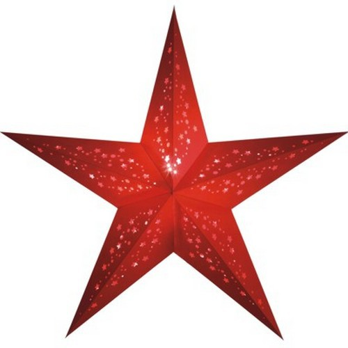 Starlightz Mia rot Leuchtstern Papier Stern Lampe Weihnachtsstern