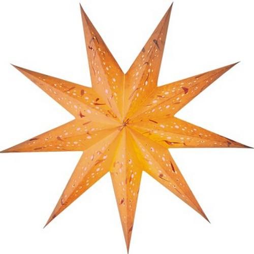Starlightz Spumante klein gelb Leuchtstern Papier Stern Lampe Weihnachtsstern