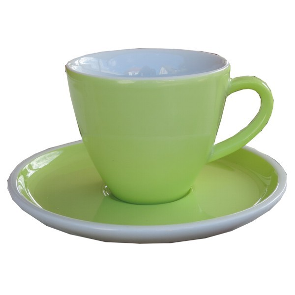 Arzberg Profi Kaffeetasse meadow 2 tlg obere + untere Porzellan