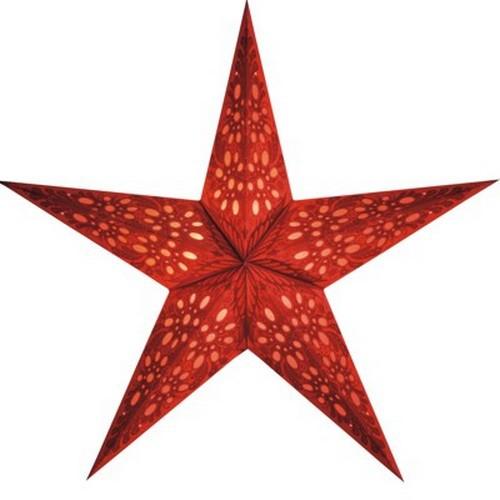 Starlightz Mono klein rot Leuchtstern Papier Stern Lampe Weihnachtsstern