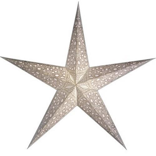 Starlightz Maharaja weiß Leuchtstern Papier Stern Lampe Weihnachtsstern