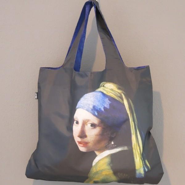 LOQI Tasche JOHANNES VERMEER Girl with pearl Earring Museum bag Einkaufstasche Shopping