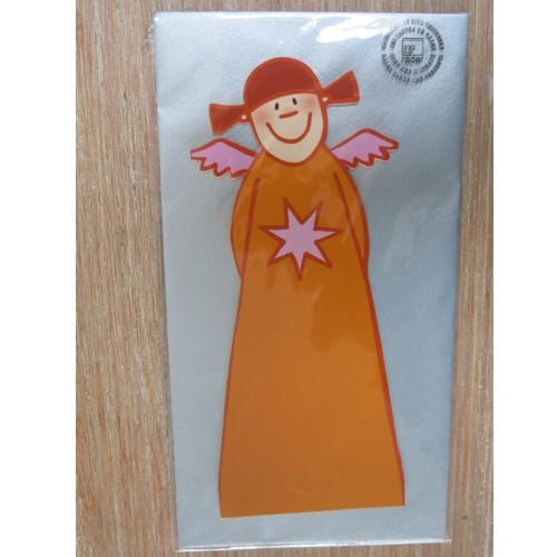 Himmlische Schwestern Aurelia Klappkarte Kuvert Karte Engel Weihnacht Angel