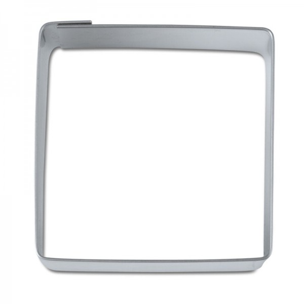 Ausstechform Quadrat 4,8 cm Ausstecher quadratisch Städteru