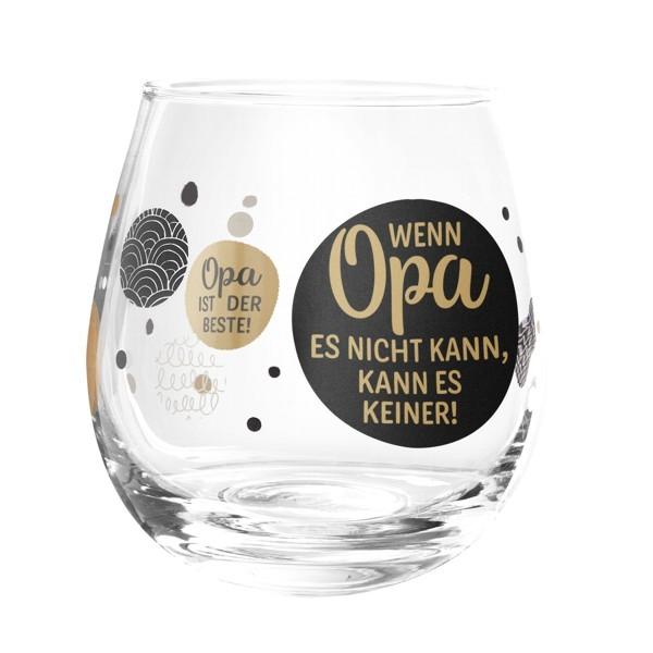 Formano Glas Spruch Wenn Opa es nicht kann es keiner der Beste Weinglas