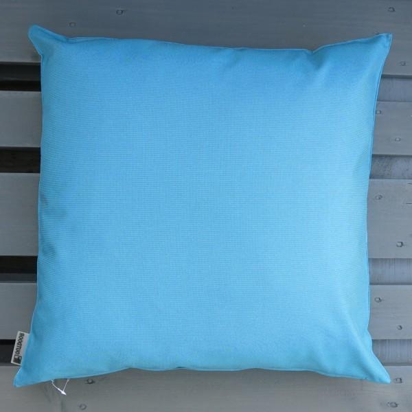 Outdoor Kissen XL St. Maxime blau petrol 60 cm Garten für draußen Newstalgie