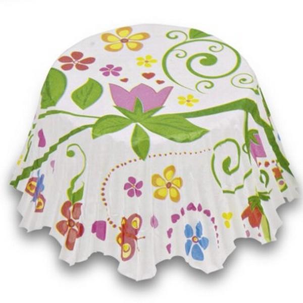 Muffinförmchen Cupcake Papierförmchen Muffin Blumengarten Städter
