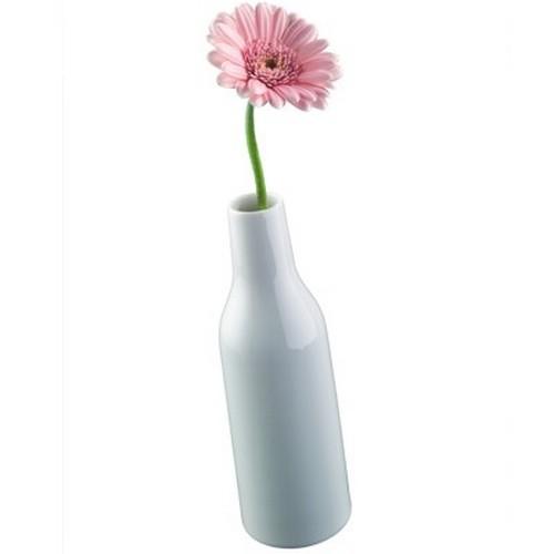 Arzberg Küchenfreunde Vase weiß 19 cm Porzellan