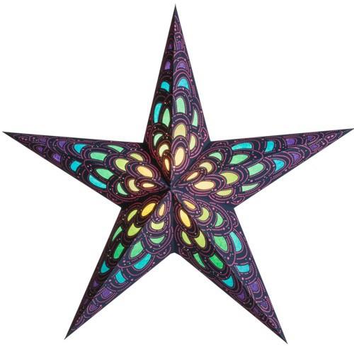 Starlightz Leuchtstern Nari tourmaline Stern Papier Weihnachtsstern