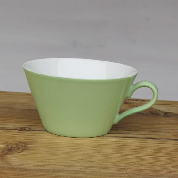 Arzberg Tric Cafe au lait Tasse spring gruen Obere Porzellan