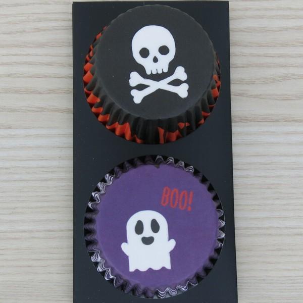 Muffinförmchen Papierförmchen Halloween 48 Stück Birkmann Cupcake