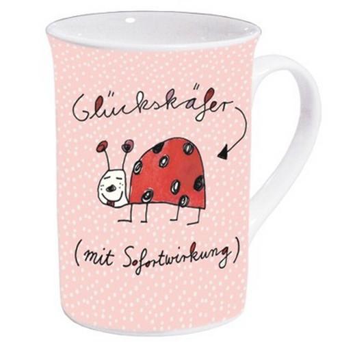 Rannenberg Becher Glückskäfer mit Sofortwirkung Kaffeebecher
