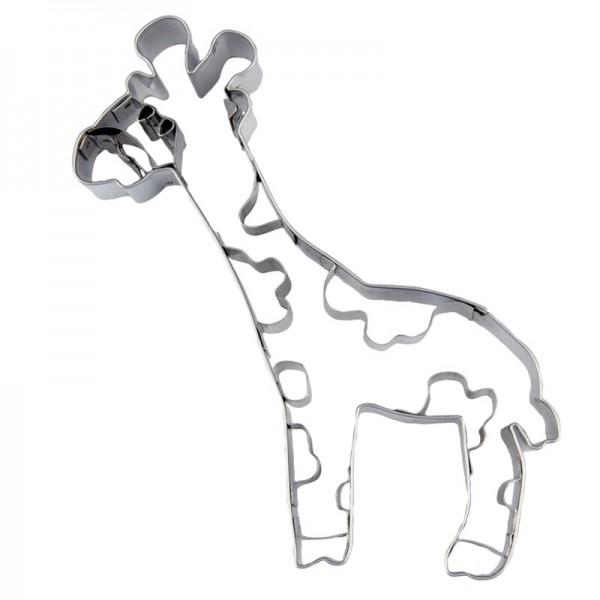 Ausstechform Giraffe 10,5 cm Ausstecher Tier Städter