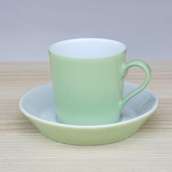 Arzberg Tric Espressotasse spring grün 2 tlg Porzellan