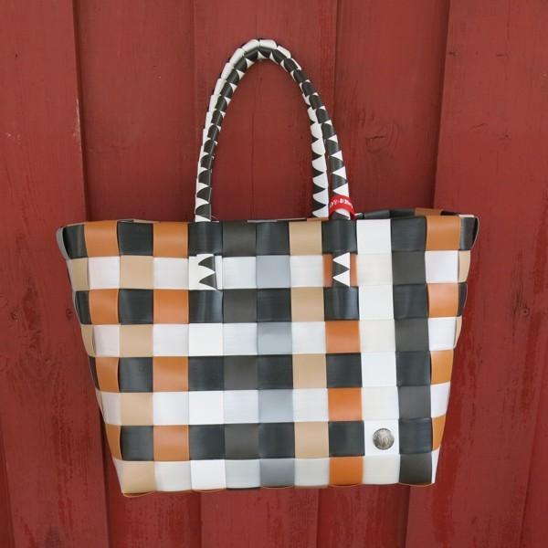 Witzgall ICE BAG 5010 33 Shopper camel grau rost Einkaufskorb