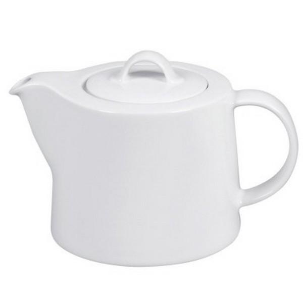 Arzberg Cucina Teekanne weiß 1,5 l Porzellan Kaffeekanne