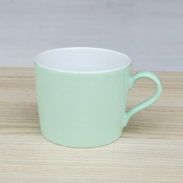 Arzberg Tric Kaffeetasse hellgrün Porzellan Obere grün