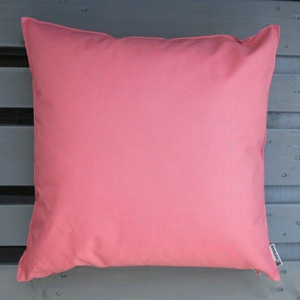 Outdoor Kissen XL St. Maxime rosa dunkel pink 60 cm Garten für draußen Newstalgie