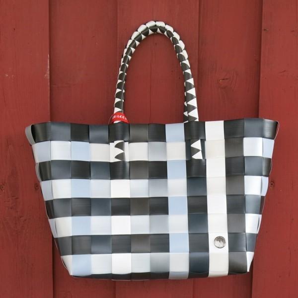 Witzgall ICE BAG 5010 16 Einkaufskorb Shopper grau schwarz weiß