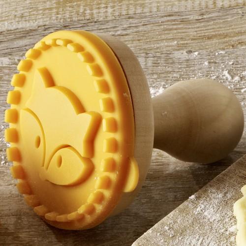 Keks-Stempel Fuchs 7 cm Cookie Stamp Plätzchen