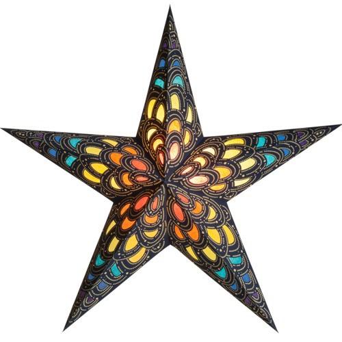 Starlightz Leuchtstern Nari Rainbow bunt Stern Papier Weihnachtsstern
