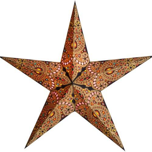 Starlightz Leuchtstern Diwali amber Stern Papier Weihnachtsstern