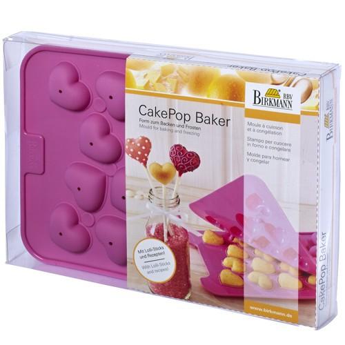 CakePop Backform Baker Love Herz Silikon Birkmann