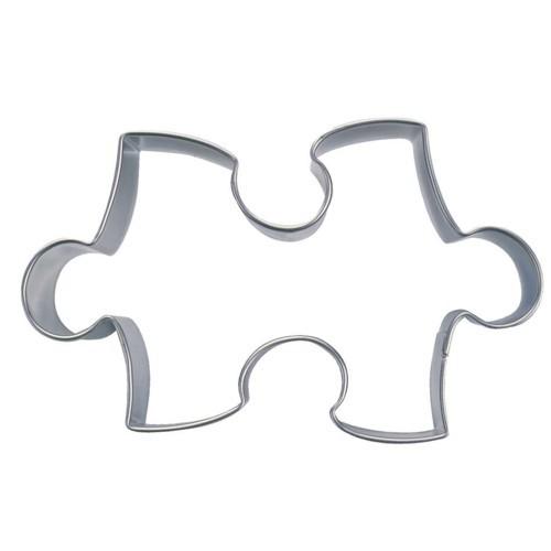 Ausstechform Puzzleteil 9 cm Ausstecher Puzzle Städter