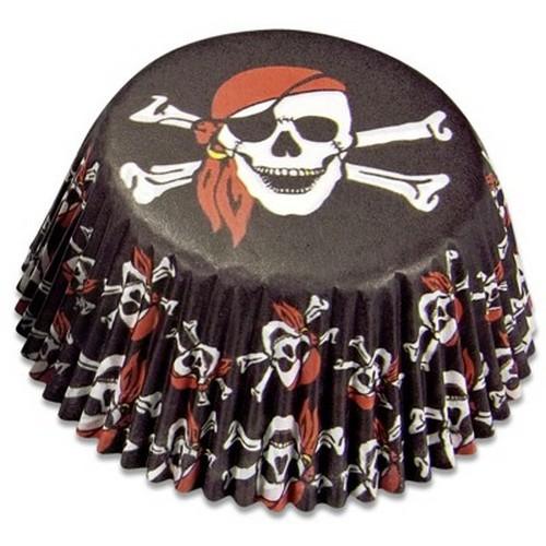 Muffinförmchen Cupcake Papierförmchen Pirat Piraten Städter