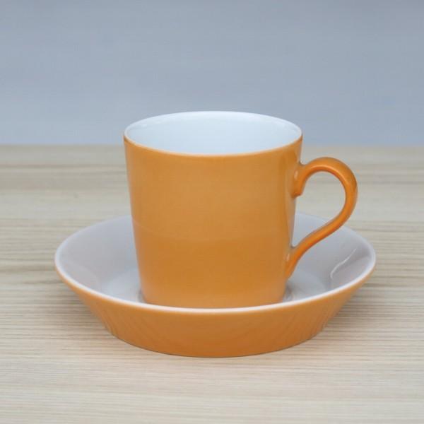 Arzberg Tric Espressotasse orange 2 tlg Porzellan